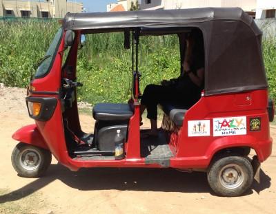 Achat d'un rickshaw pour une communauté «Gypsy» de Pondichéry
