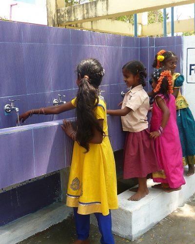 Rénovation et panneaux solaires à l'école d'Ottankadu