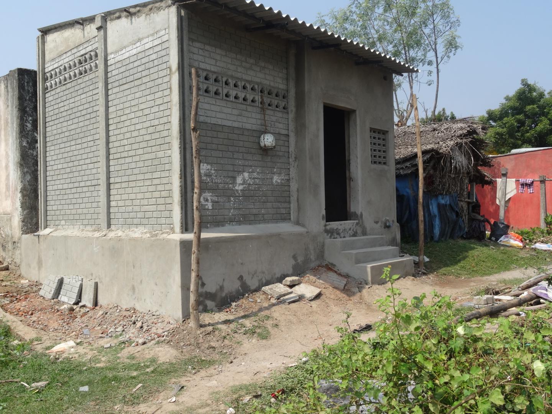 La maison de Narmatha et de sa maman