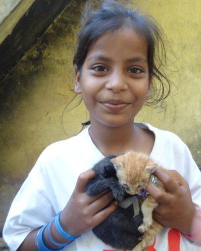 La vie quotidienne chez les gypsies de Pondichery
