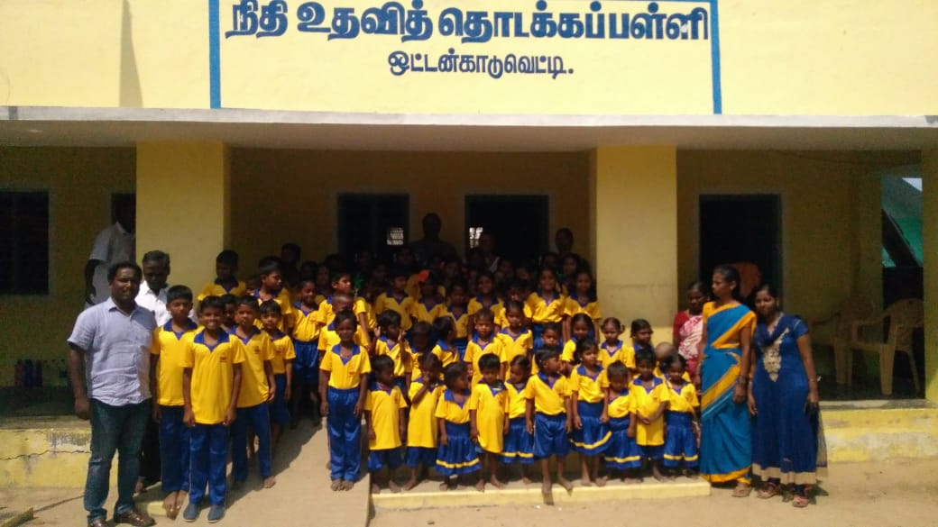 Ecole d'Ottankadu réhabilitée